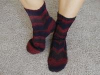 My_socks_posing