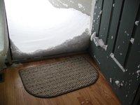 Snowagainstthedoor